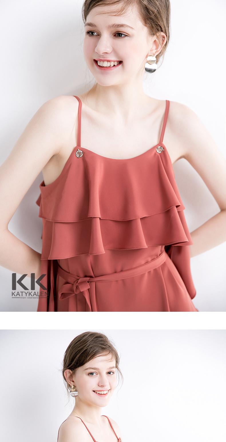 性感女裙 新款女裙上饶夏装女裙 Katy kalen新款夏装女裙