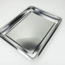 不锈钢方盘浅_不锈钢托盘冲孔_三六不锈钢烧烤盘