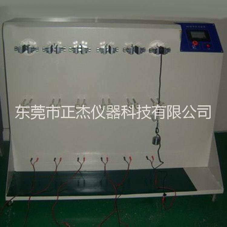 触摸屏控制360度线材弯折试验机 线材弯折摇摆机厂家直销