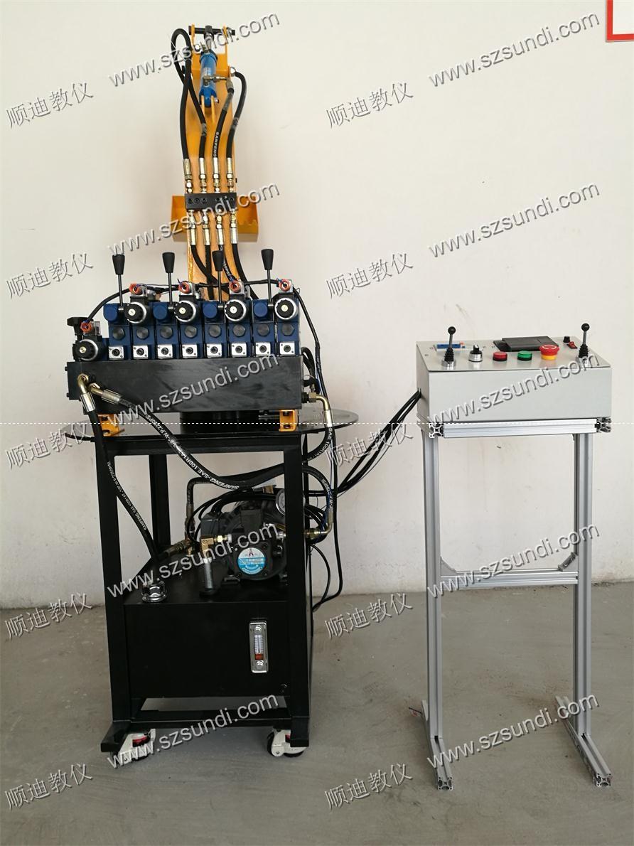 SDYWJ-A1液压挖掘机实训台