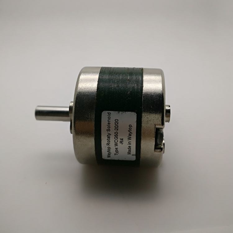 厂家直销 双向旋转电磁铁wcg50-20/20 断电自保持 大扭矩输出图片大全
