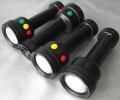 铁路信号灯四色灯价格,四色信号电筒,多功能手电筒四色信号灯价格