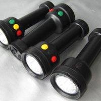 铁路信号灯,四色光源LED强光手 铁路信号灯,四色光源LED手电筒