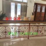 溢升楼梯铝铜艺扶手护栏围栏栏杆  专业厂商定制