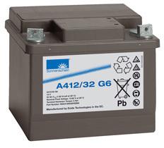 德国阳光蓄电池A412/32G5 12V32AH胶体12V电池电力通讯直流屏用