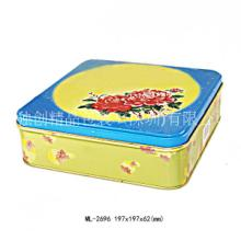 供应点心铁盒 月饼包装盒 荣华月饼罐供应 专业铁盒生产工厂图片