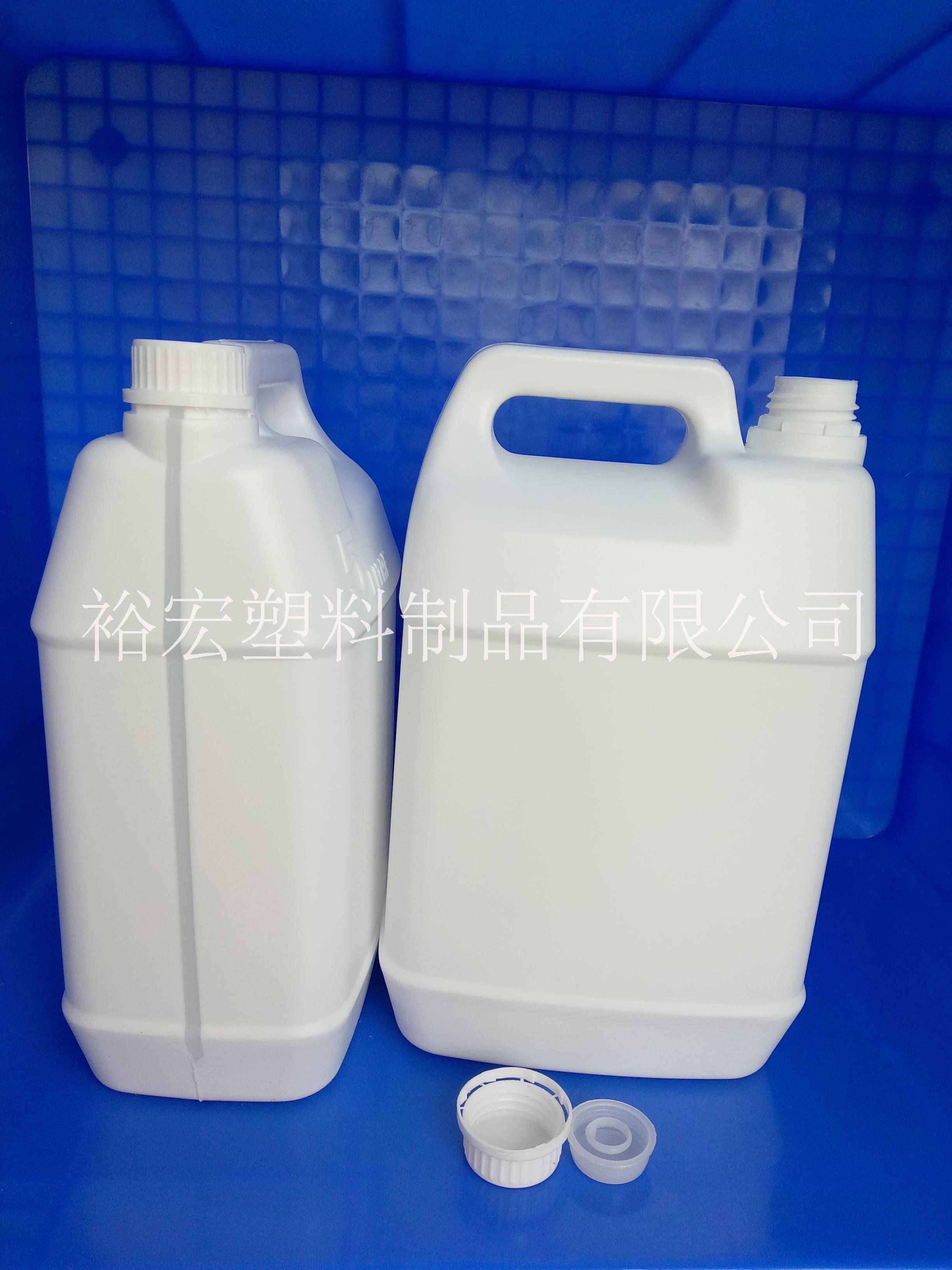 生产5升乳白色塑料瓶销售