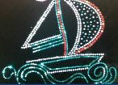 大宏烫钻镭射珠片烫图数码印印花烫图纺织辅料烫图图案设计加工