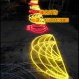 中国结灯笼过街灯 中国结灯笼过街灯双面灯串
