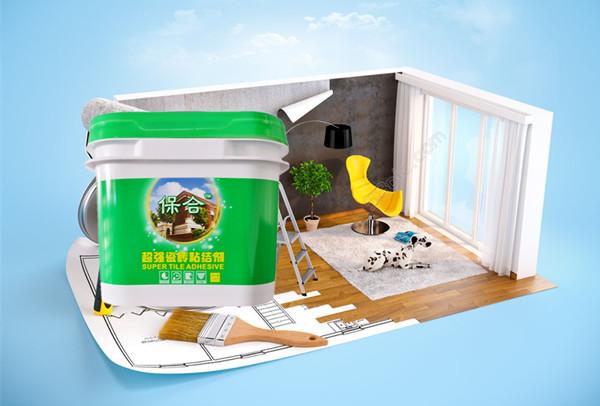 安徽六安瓷砖粘结剂厂家 保合瓷砖粘结剂价格 每平方米用量