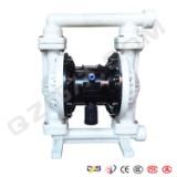工程塑料隔膜泵厂家 启正水泵供应隔膜泵气动隔膜泵 QBK40工程气动隔膜泵