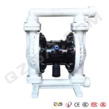 工程塑料隔膜泵厂家启正水泵供应隔膜泵气动隔膜泵QBK40工程气动隔膜泵批发