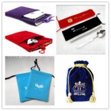 定制礼品袋绒布袋拉绳袋束口袋手机袋电子产品包装袋图片