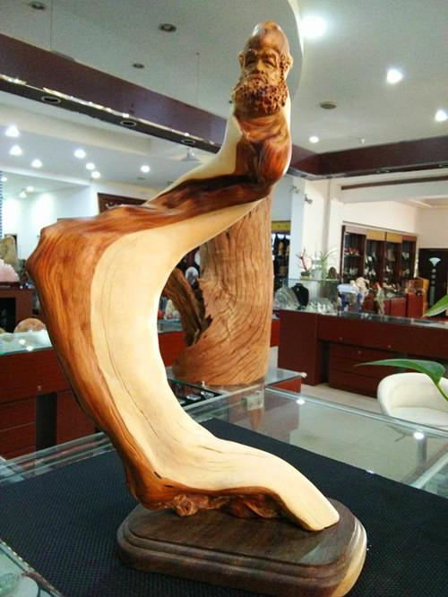 崖柏达摩 盛逹玉器——崖柏雕刻摆件——达摩 崖柏雕刻摆件—达摩摆件,盛逹玉器