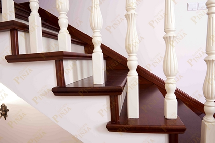 专业楼梯设计制作安装_楼梯制作青浦橡木_现代简约l型楼梯图片大全