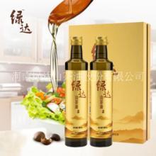纯山茶油绿达野生山茶油500mLx2高端礼盒装物理压榨批发