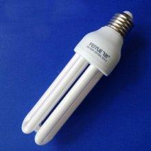精品推荐飞跃直管纯三基色节能灯E27\B22螺旋口U型节能灯批发