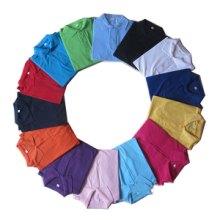 高档休闲衫定做定制 纯色尺码T恤 价格优异 厂家直销供应 纯色工作服T恤 POLO衫