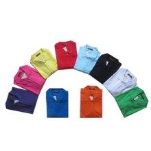 厂家专业生产定制工作服装纯色POLO衫价格优异欢迎订购