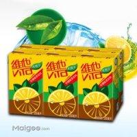 维他奶柠檬+红茶