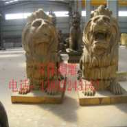 纯铜狮子图片
