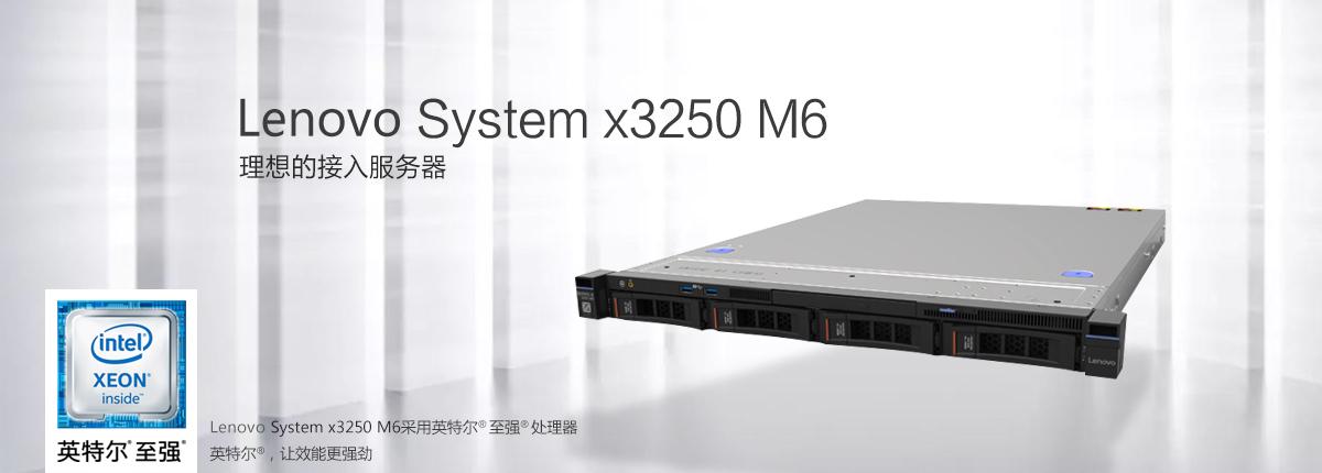 IBM联想机架式服务器x3250 企业理想的接入服务器 文件打印共享服务器