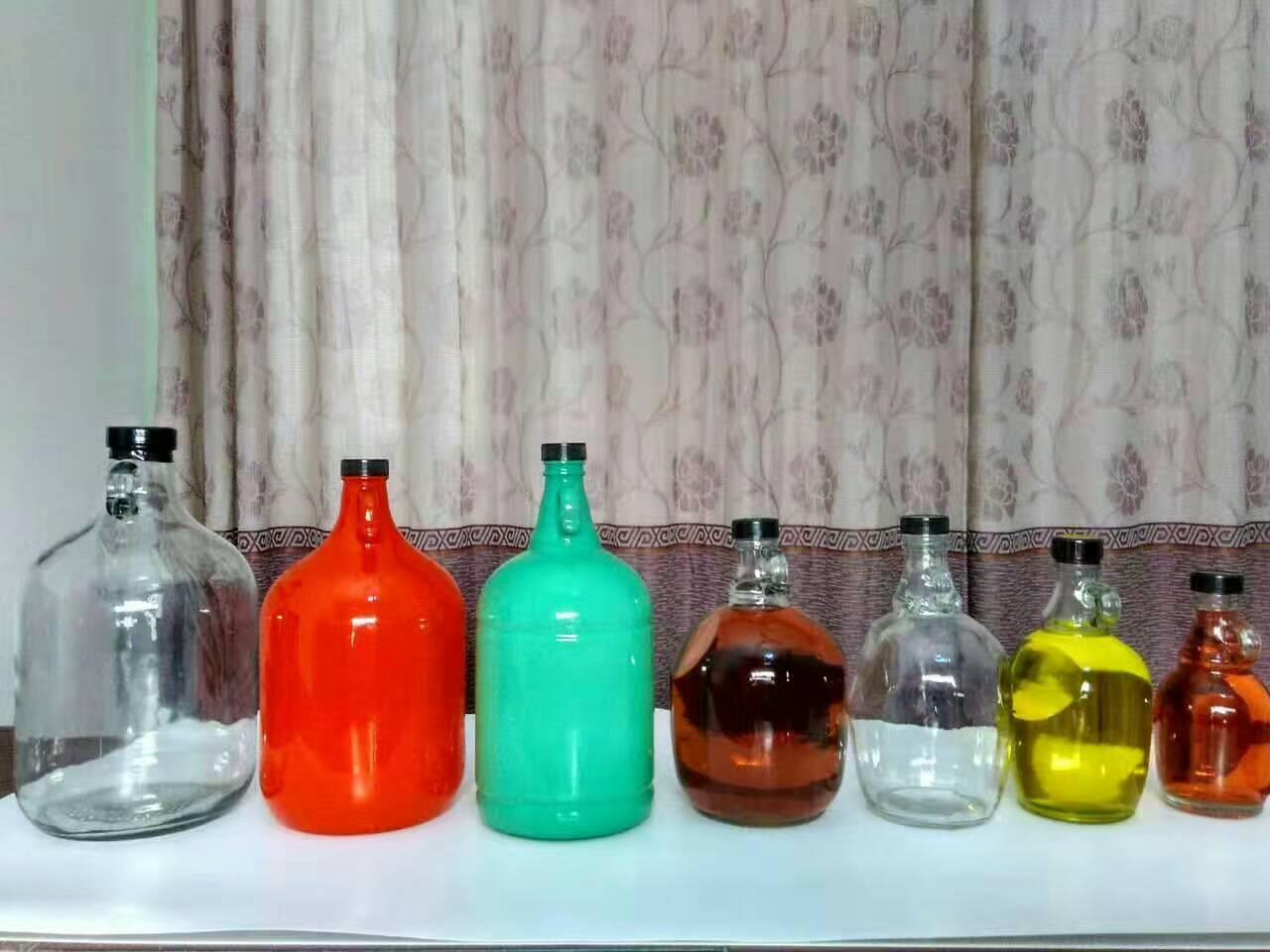 加州酒瓶自酿葡萄酒瓶密封泡酒玻璃