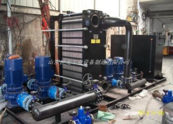 板式换热机组、换热器采暖设备图片