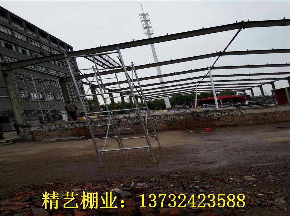 浙江轻钢结构施工哪家好 金华二层钢结构厂房多少钱 钢结构凉棚订做