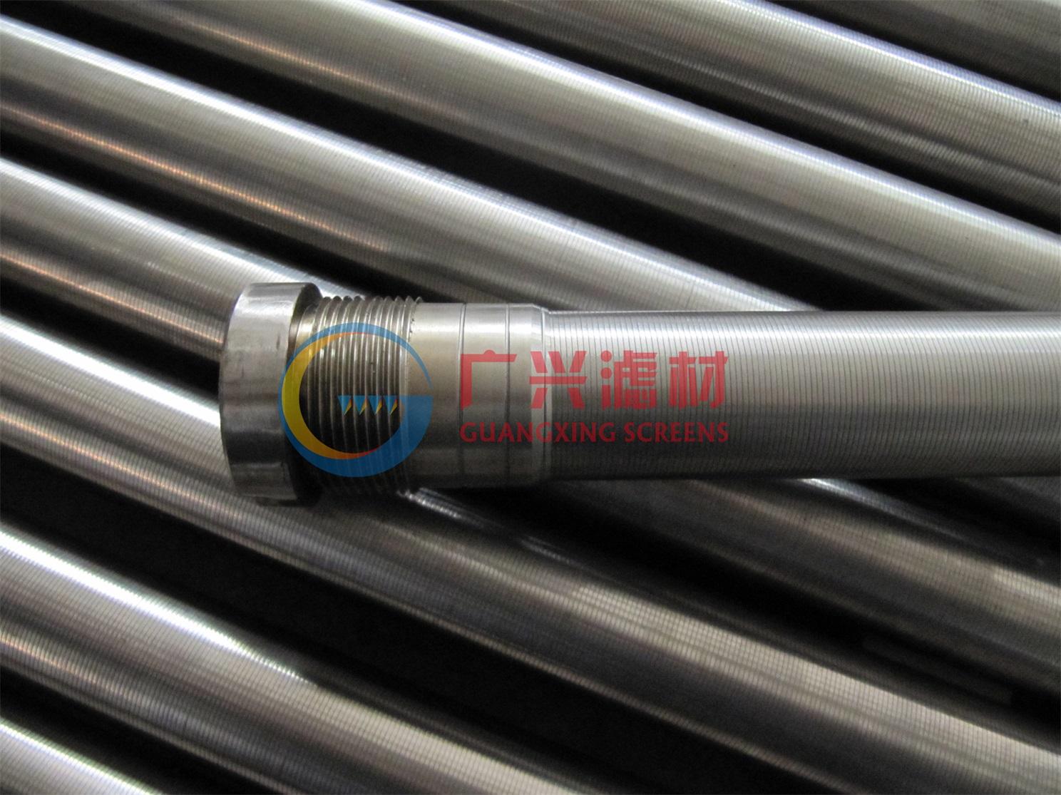 全自动反冲洗过滤器用约翰逊管,楔形滤芯,直径25 33 37  38mm 纯圆