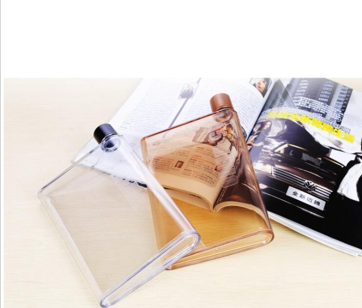 A6笔记本水杯 便携水壶 厂家直销 广告礼品塑料杯 学生水杯