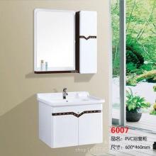 厂家特价 pvc挂墙式弧形浴室柜 小户型卫浴镜柜 欧式防水组合吊柜批发