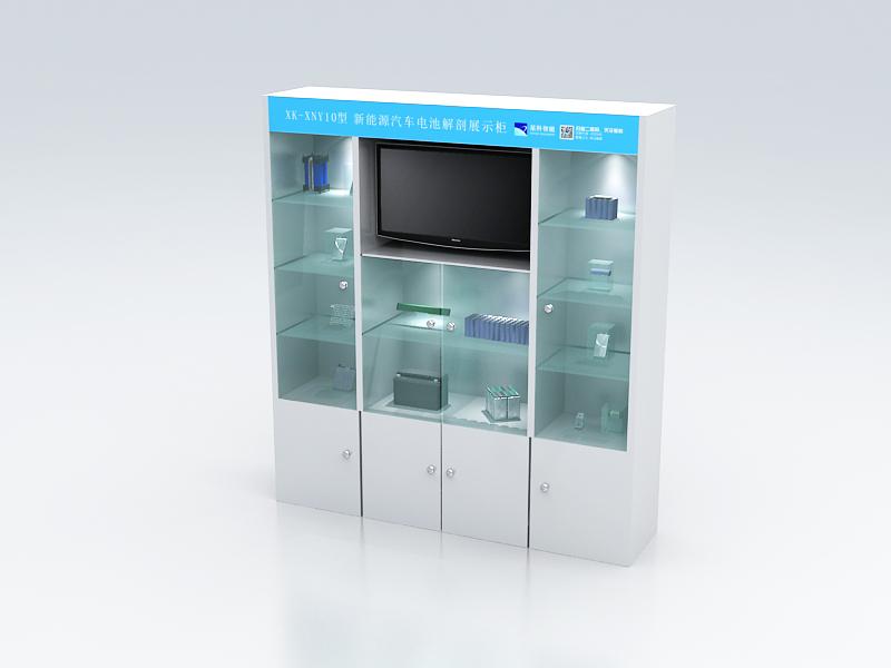 电池解剖展示柜