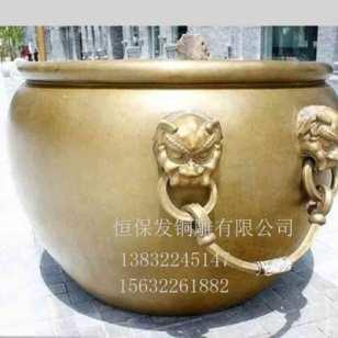 大铜缸图片