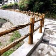 泰安景区仿木栏杆制作图片