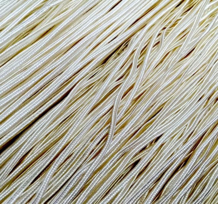 人造丝坑绳K绳编织凹绳蛇腹带销售