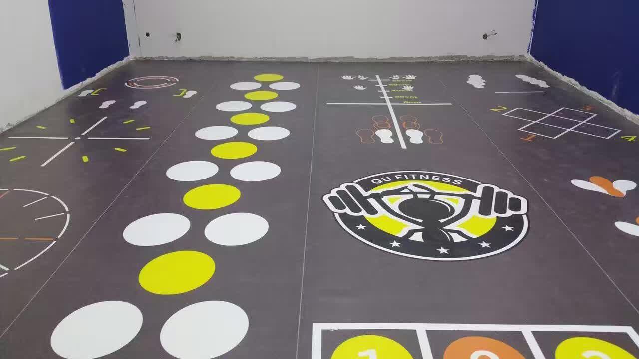 羽毛球馆篮球场用PVC地板