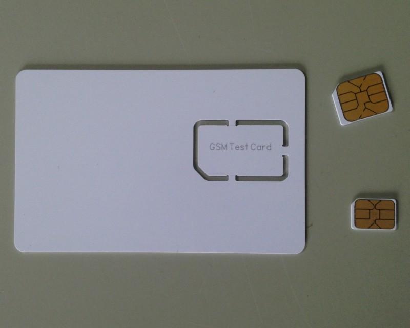 GSM测试卡gsm测试白卡