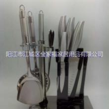 不锈钢厨用十件套套刀厂家直销图片