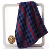 金号毛巾 湖南金号毛巾  菱形方块纯棉毛巾