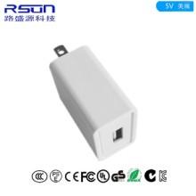 RSUN-热销产品5v2a同步整流电源适配器10W美规USB充电器批发