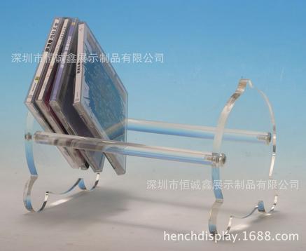 广州创意CD展示架批发 亚克力展示架供应商 展示台生产厂家