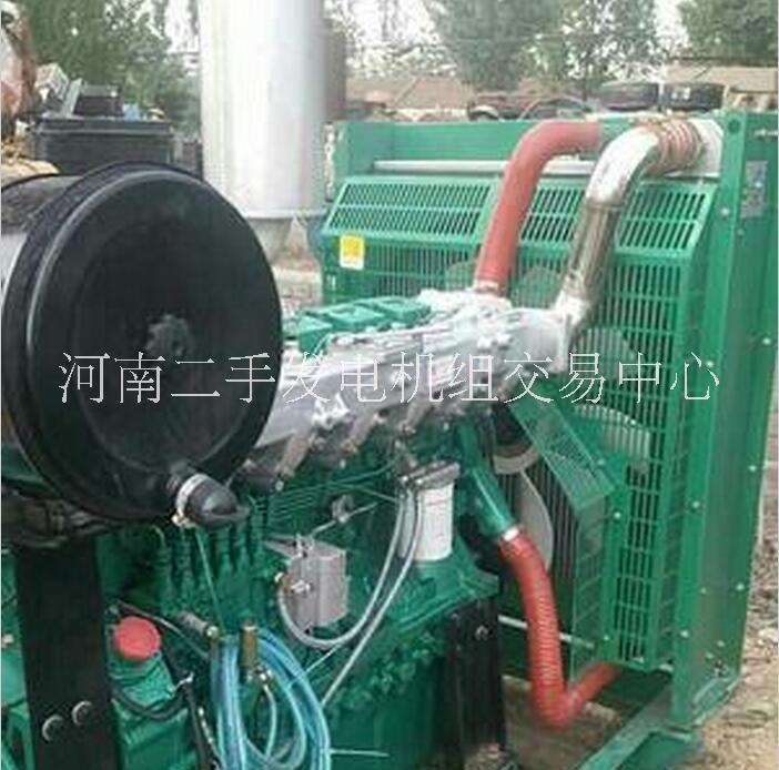 玉柴200kw发电机组出售河南二手发电机组交易中心发电机组出售