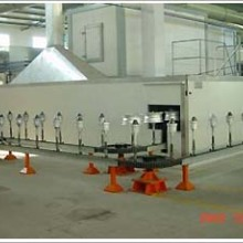 供应烤漆设备 供应铁路车辆配件喷漆烤漆生产线