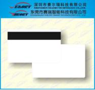 低抗磁条白卡
