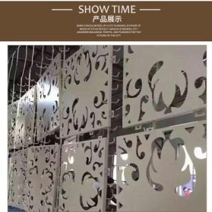 艺术中心外墙冲孔铝板图片