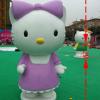雕塑KITTY猫图片