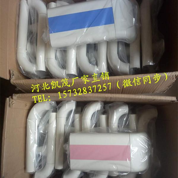 北京康复中心走廊扶手140型内衬铝材PVC扶手厂家
