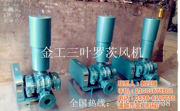 金工专业污水曝气罗茨风机 鼓风机选型 水产养殖增氧
