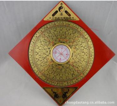 厂家直批香港老字号5寸6寸8寸10寸纯铜面板综合罗盘罗经仪 纯铜面板供应商